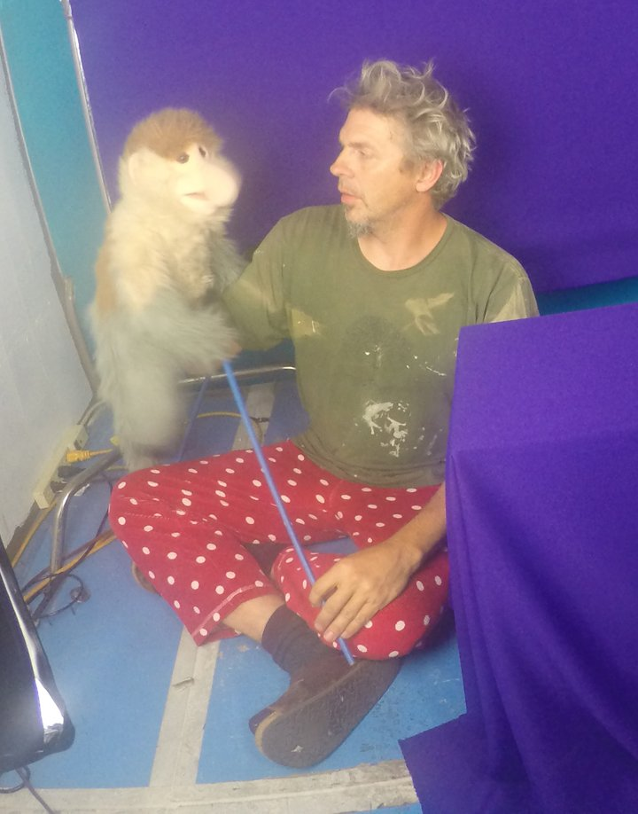 jonathan-youtt-working-hanging-out-with-monkey-puppet