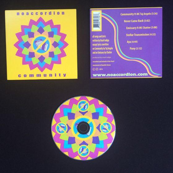 noaccordion-community-cd-rainbow-lotus-cover