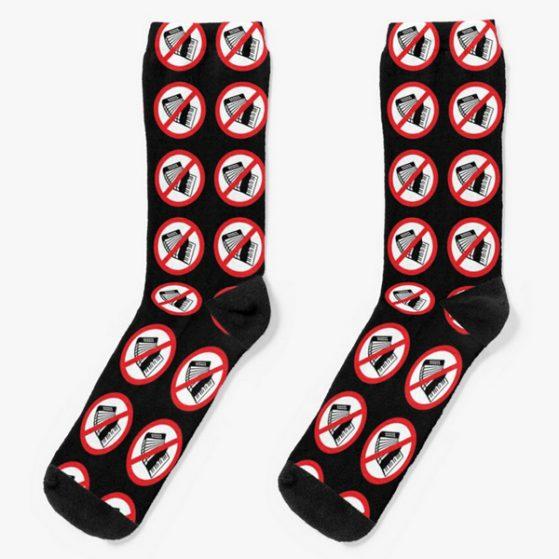 noaccordion-merch-logo-socks-black-white-red