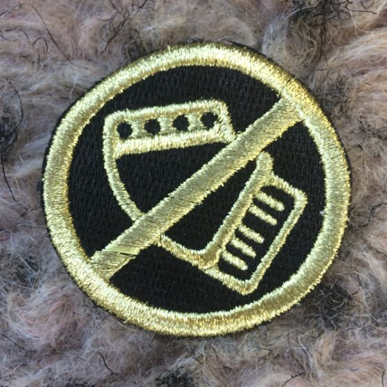 noaccordion-simple-logo-black-gold-embroidered-patch
